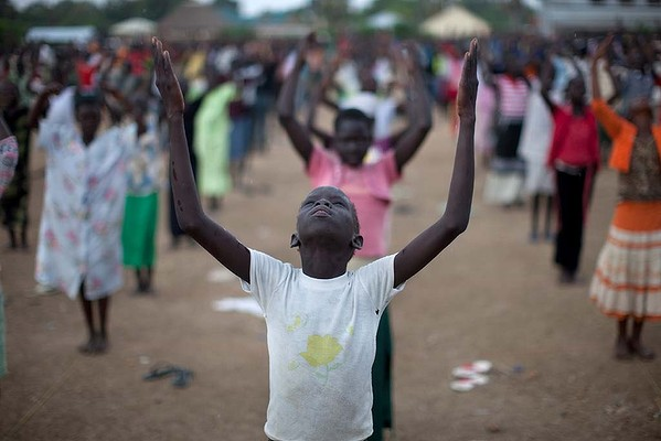 Praying for Independence in the Southern Sudan